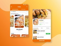 Foodies Application Concept