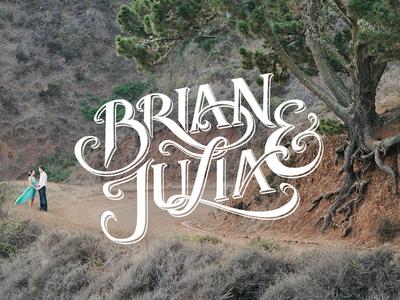 Wedding Website wedding typography lettering save the date hand lettering vector illustrator photoshop website design