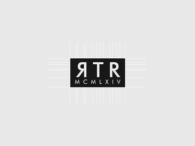 Rtr Logo Design typography typo type logotype logo design