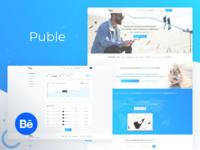 Puble - Content distribution platform