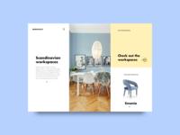 Scandinavian Chairs Website