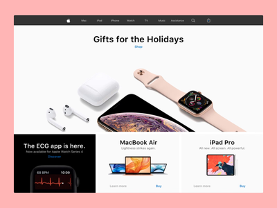 Apple website animation with Principle cards app motion video apple animation design animation 2d uidesign design ui. ux webdesign principle animation