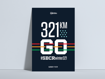 SBCRideWinter321 typography branding logo identity