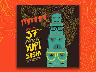 37th B—Day Poster poster birthday yupisashi