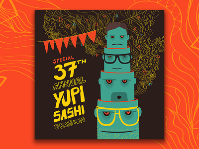 37th B—Day Poster