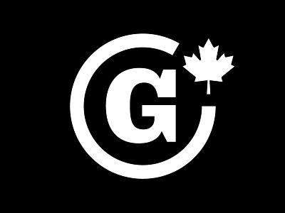 Garage Logotype canada logo brand poutine garage