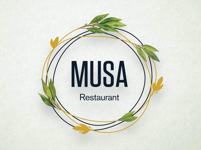 Musa Restaurant Logotype