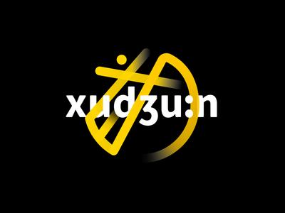"""""""戌冂"""" xu jiong logo yellow black"""