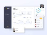 Live Visitor's Analytical Dashboard