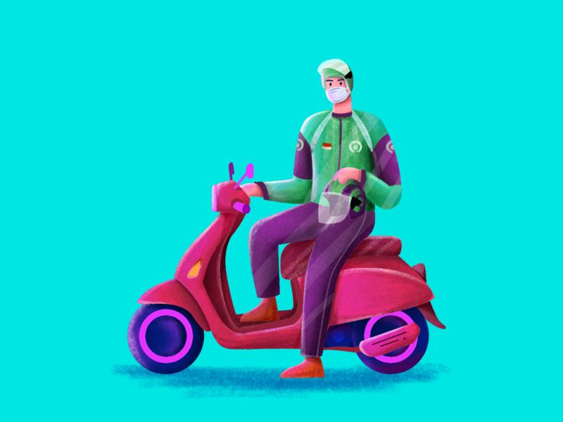 Driver newshot dribble adobexd adobe creativity creative illustration art illustration illustrator artwork art designer design uiuxdesign uiuxdesigner uiux ui