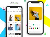 Clotheory - The Fashion App