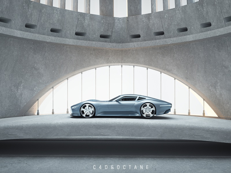car flakes render symmetry sun cool render car flakes car 3d c4d