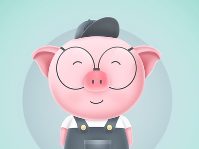 Happy Chinese Lunar New Year of Pig
