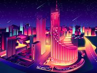 Hefei station web page side illustration