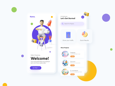 3d Mobile App mobile apps application design user experience uxdesign uiuxdesign 3d icons user interface designer user interface design dribbble best shot uidesign mobile app design mobile ui 3dicons