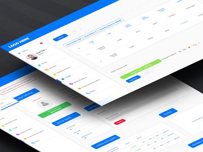 Dashboard User interface design app ux mockup icon flat user interface design design uikit adobexd uidesign uiux dashboard template dashboard design dashboard ui