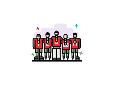 #20 Hockey team icon