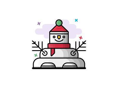 #31 Snowman icon