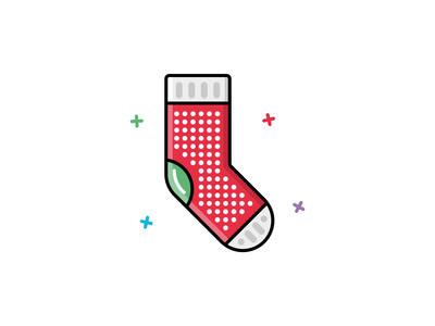#32 Sock icon