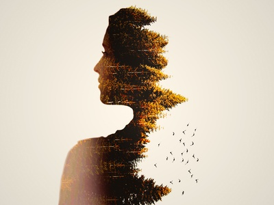 Double Exposure artwork photo manipulation photoshop double exposure graphic design illustration design graphic designer