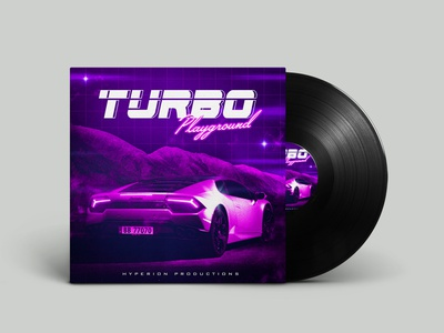 Album Cover Design album cover album art album cover design photoshop synthwave 80s style graphic design print design illustration design graphic designer