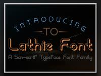Lathie Font