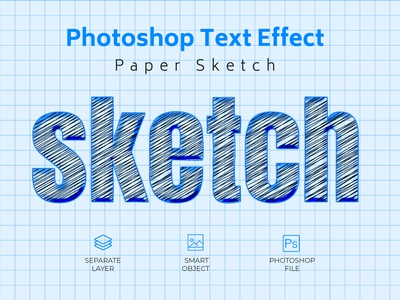 Sketch Effect Text