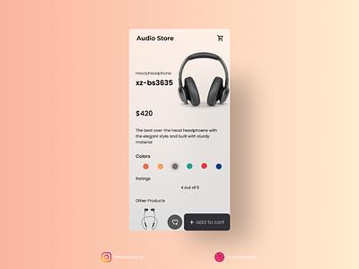 Ecommerce app - Daily ui 012 designers uxdesigners uidesigners uiux ui uidesign dailyui