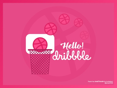 First Dribbble Shot