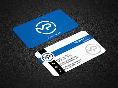 Double Part Business Card