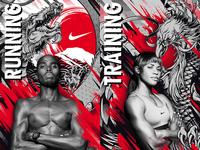 Nike Athlete Tokyo Promotional Designs