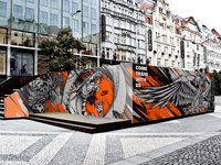 Nike Pop-Up Shop /Mural Design