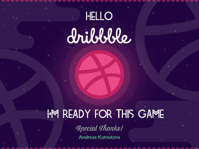 Dribbble photoshop debut debuts shadow illustration ball dribbble door shot st
