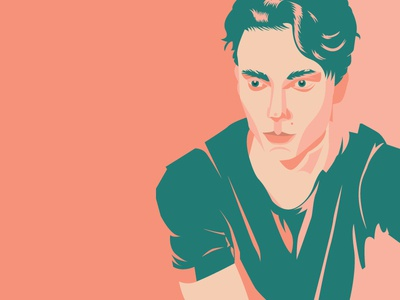 Love Bug flat art design vector graphic design illustration digital illustration