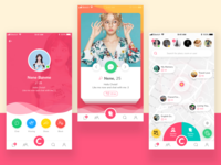 Chola App Mobile Design
