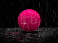Blender Rain