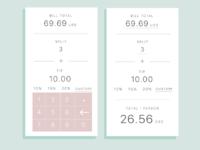 DailyUI #004 -- Calculator