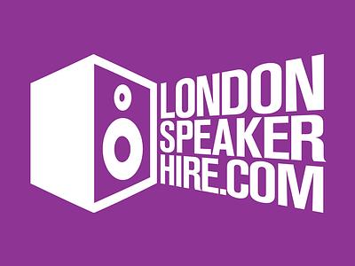 London Speaker Hire Logo london speaker hire speaker logo