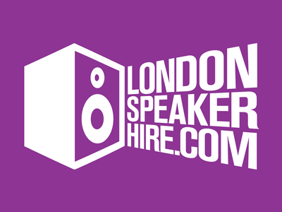 London Speaker Hire Logo london speaker hire speaker logo