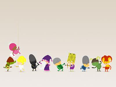 Edible Castle Character Design character design edible castle animation cartoon