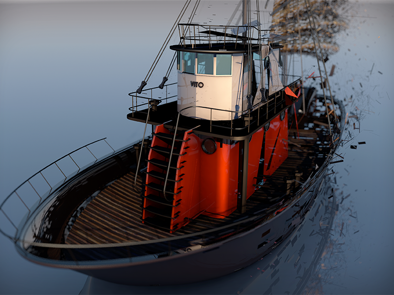 Vito's Boat - Shatter by Narayana Parlapalli (Nani) on Dribbble