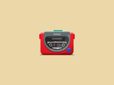 My First Walkman | Commute Doodle