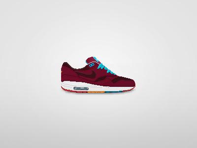 Nike Am1 X Parra Pixel Art Sneaker By Hei Yu Tang On Dribbble