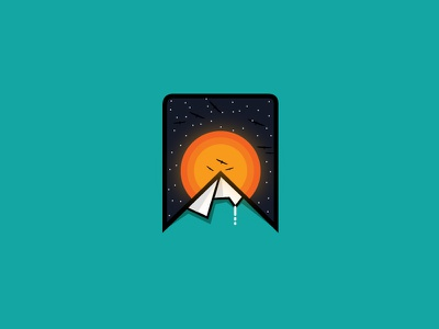 Mountain icon visual art graphicdesign new dribbble pain art logo inpiration new logo logo