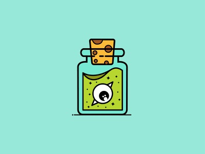 bottles and poisons illustration logo inpiration graphicdesign visual art ilustration flat flatdesign dribbble design icon