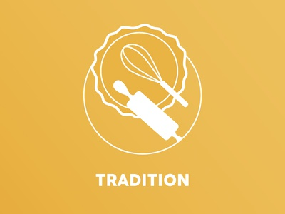 Tradition // icon rolling pin whip cooking yellow kitchen tools beverage food kitchen tradition cake icon baking