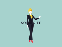 Woman illustration set // So Bright