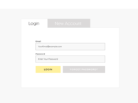 Login & Sign Up Form
