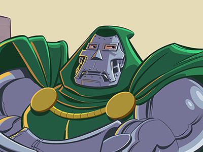 Alterations villain doctor doom fantastic four superhero comicbook comics marvel