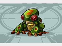 Frog color copy